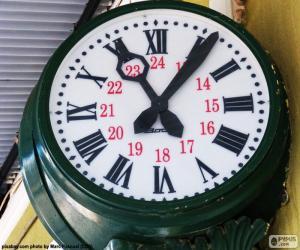Puzzle de Reloj de la estación