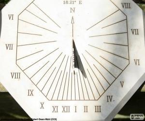Puzzle de Reloj de sol