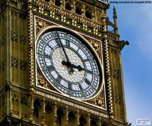Puzzle de Reloj del Big Ben