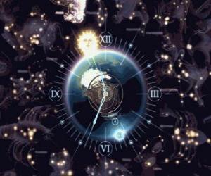 Puzzle de Reloj del zodíaco