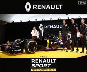 Puzzle de Renault Sport F1 2016