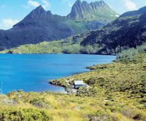 Puzzle de Reserva natural de Tasmania, Australia