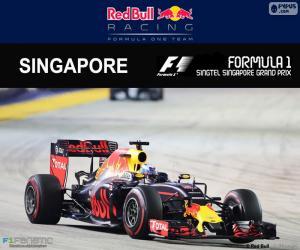 Puzzle de Ricciardo, GP Singapur 2016
