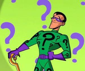 Puzzle de Riddler, el Acertijo o Enigma es un supervillano obsesionado con los acertijos y un enemigo de Batman