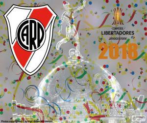 Puzzle de River, campeón Libertadores 2018