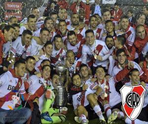 Puzzle de River Plate Libertadores 15