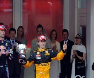 Puzzle de Robert Kubica - Renault - Monte-Carlo 2010 (3er Clasificado)