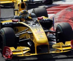 Puzzle de Robert Kubica - Renault - Monza 2010