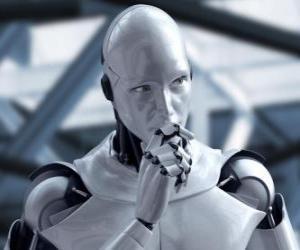 Puzzle de Robot extraterrestre