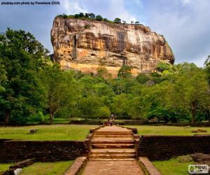 Puzzle de Roca de Sigiriya, Sri Lanka