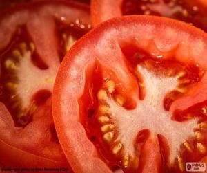 Puzzle de Rodajas de tomate