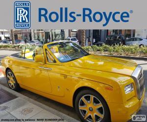 Puzzle de Rolls-Royce amarillo