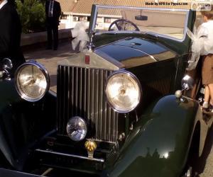 Puzzle de Rolls-Royce nupcial