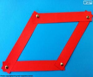 Puzzle de Rombo rojo