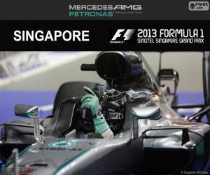 Puzzle de Rosberg, GP Singapur 2016