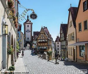 Puzzle de Rothenburg, Alemania