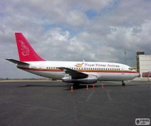 Puzzle de Royal Khmer Airlines fue una aeroliniea de Camboya (2000-2004)