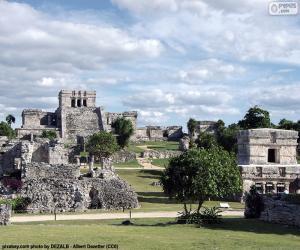 Puzzle de Ruinas de Tulum, México
