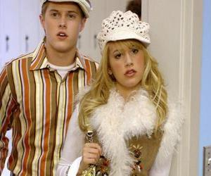 Puzzle de Ryan Evans (Lucas Grabeel), Sharpay Evans (Ashley Tisdale) actuando