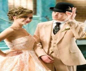 Puzzle de Ryan Evans (Lucas Grabeel) junto Kelsi Nielsen (Olesya Rulin) en el musical