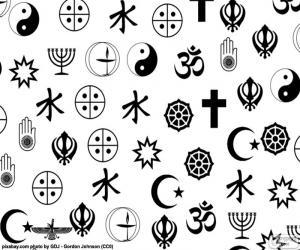Puzzle de Símbolos religiones
