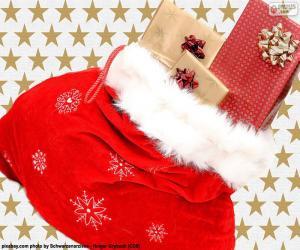Puzzle de Saco de navidad