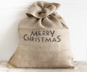Puzzle de Saco de regalos de Navidad