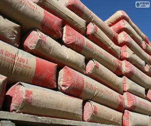 Puzzle de Sacos de cemento Portland