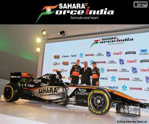 Puzzle de Sahara Force India F1 team 2015