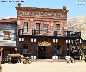 Puzzle de Saloon del Oeste