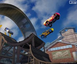 Puzzle de Salto, videojuego Cars 3