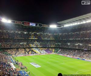 Puzzle de Santiago Bernabéu, Madrid