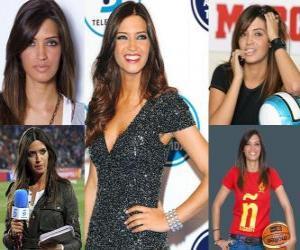 Puzzle de Sara Carbonero es una periodista deportiva española.