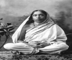 Puzzle de Sarada Devi, esposa y compañera espiritual de Ramakrishna Paramahamsa