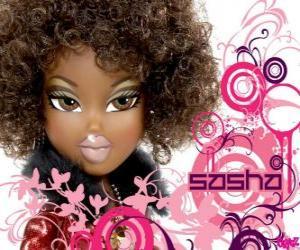 Puzzle de Sasha la música es lo suyo y asiste a todos los clubes, fiestas, bandas y películas de baile. Es afroamericana