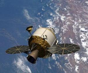 Puzzle de Satélite artificial, Orion