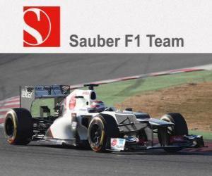 Puzzle de Sauber C31 - 2012 -