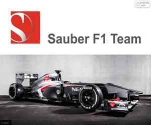 Puzzle de Sauber C32 - 2013 -