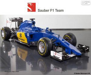 Puzzle de Sauber F1 Team 2015