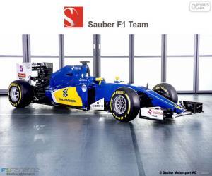 Puzzle de Sauber F1 Team 2016
