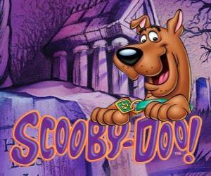 Puzzle de Scooby Doo con el logo