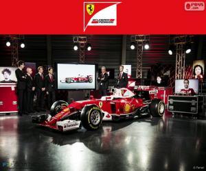 Puzzle de Scuderia Ferrari 2016