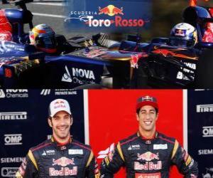 Puzzle de Scuderia Toro Rosso 2013