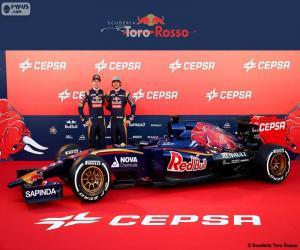 Puzzle de Scuderia Toro Rosso 2015