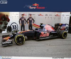Puzzle de Scuderia Toro Rosso 2016