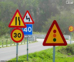 Puzzle de Señales de tráfico