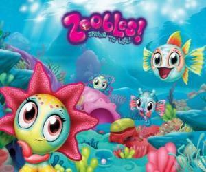 Puzzle de Seagonia, el mar de los Zoobles