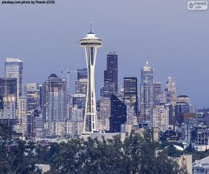 Puzzle de Seattle, Estados Unidos