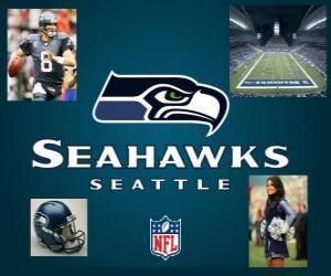 Puzzle de Seattle Seahawks
