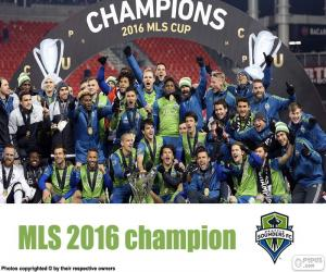 Puzzle de Seattle Sounders, MLS 2016